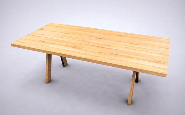 Table - 5 - 3DOcean Item for Sale