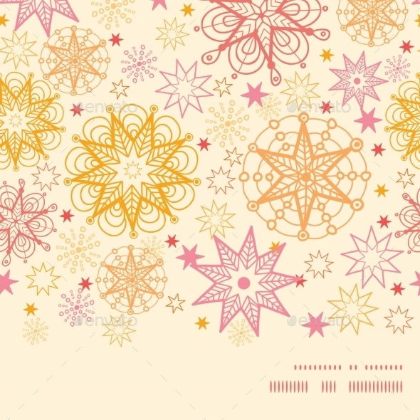 GraphicRiver Warm Floral Pattern 10815530