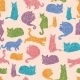 Cats Pattern - GraphicRiver Item for Sale