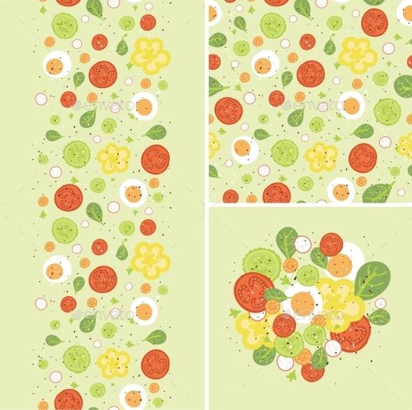 GraphicRiver Egg Salad Pattern 10815591