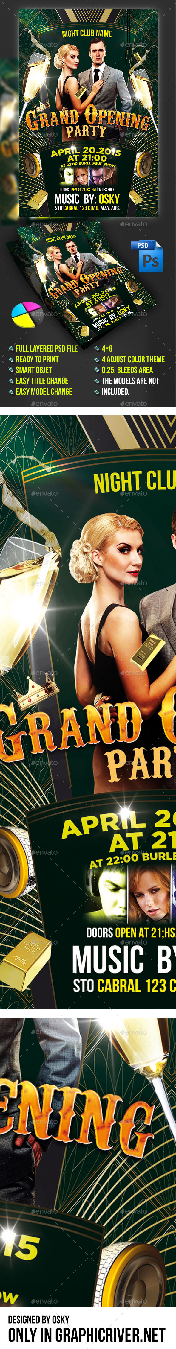 GraphicRiver Grand Opening Flyer 10815710