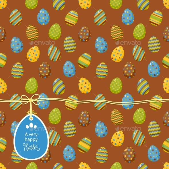 GraphicRiver Easter Pattern 10815746