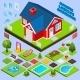 Landscape Design Isometric - GraphicRiver Item for Sale
