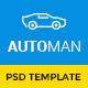 Automan - Advanced Car Dealer PSD Template