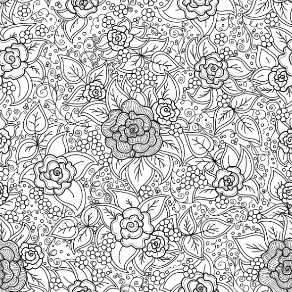 GraphicRiver Floral Pattern 10816216