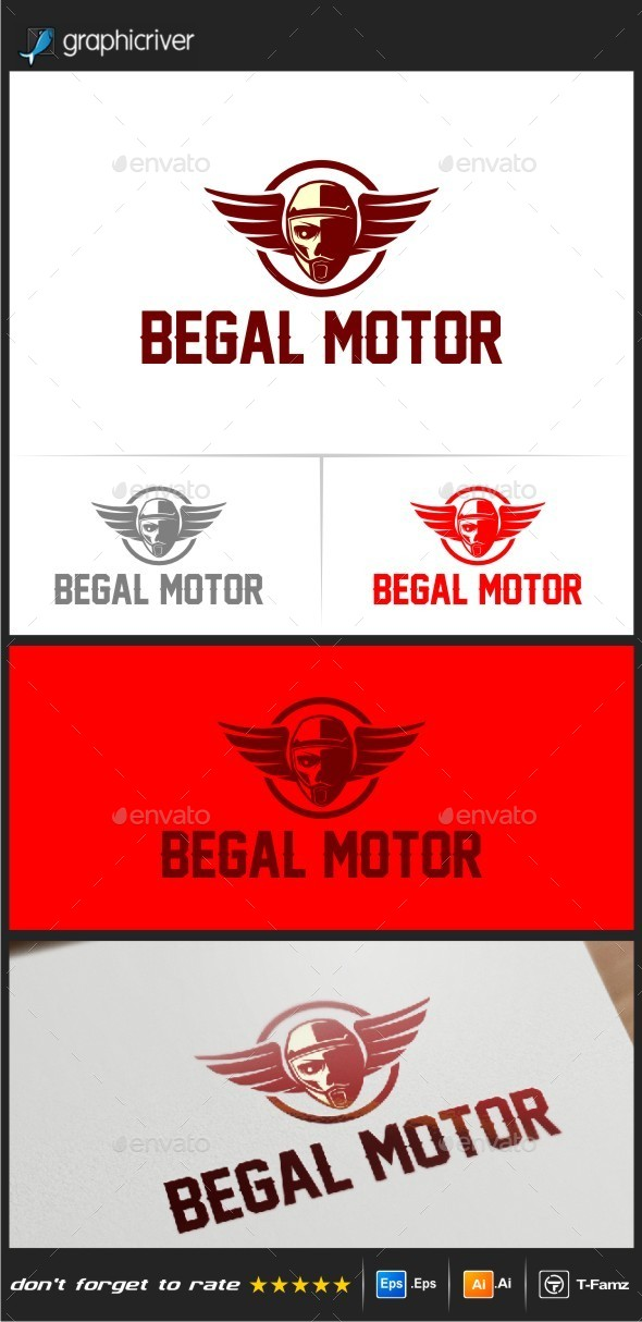 GraphicRiver Begal Motor Logo Templates 10816229