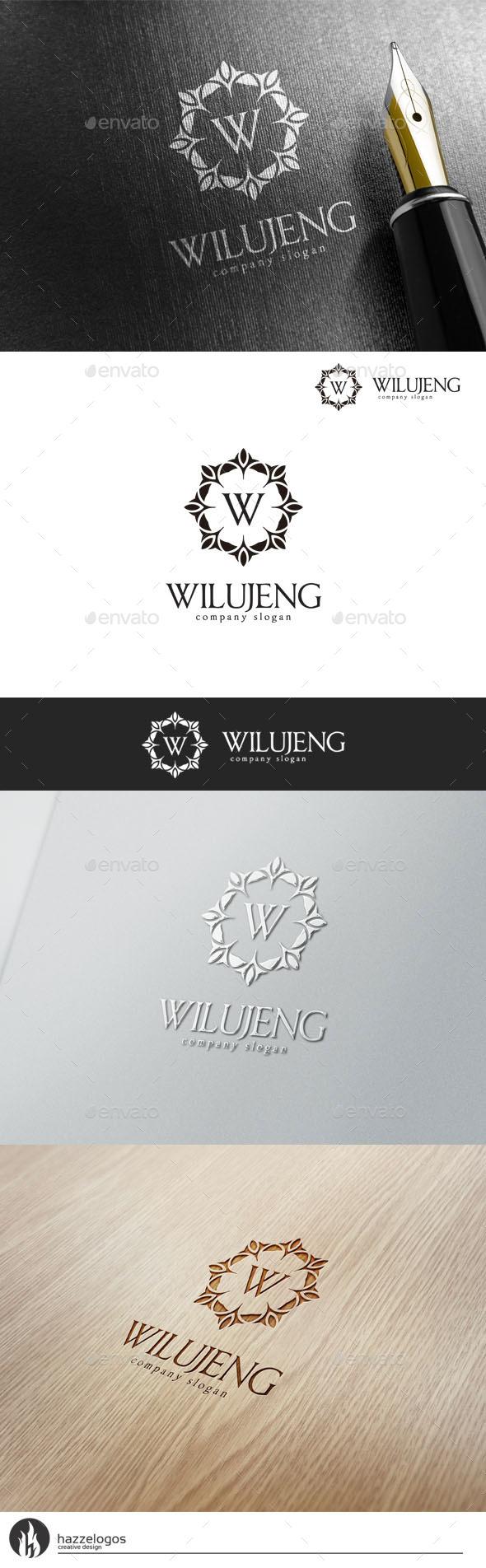 GraphicRiver Wilujeng Logo 10816287