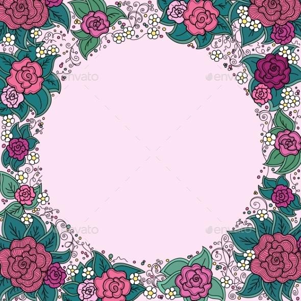 GraphicRiver Floral Ornament 10816339