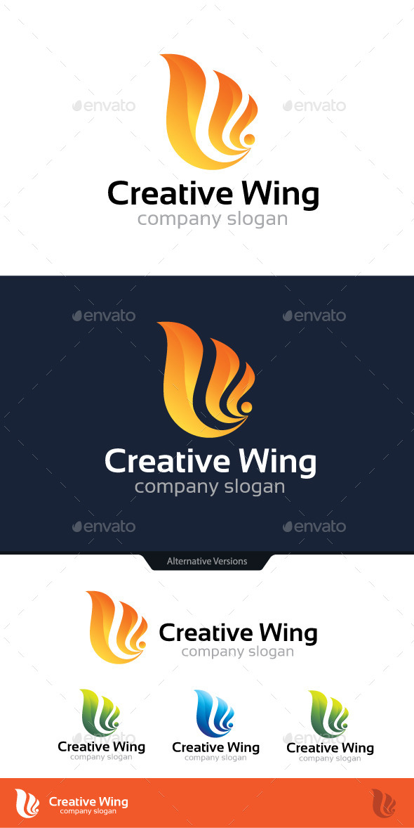 GraphicRiver Creative Wing 10816340