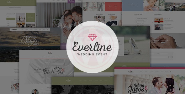 Everline - Wedding Events HTML Template
