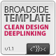 Broadside XML Template - Deeplinking - ActiveDen Item for Sale