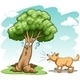 Dog Barking at Tree  - GraphicRiver Item for Sale