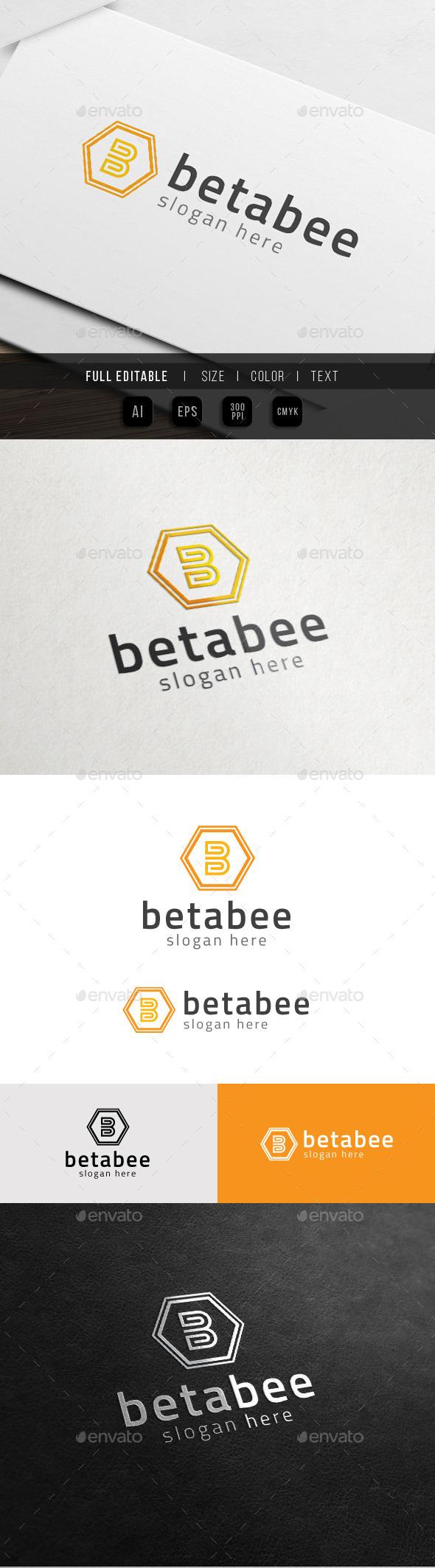 GraphicRiver Bee Business Hexa Brand B 10817073