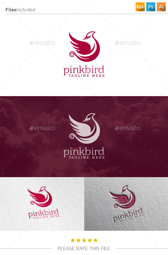 GraphicRiver Bird Logo 10809200