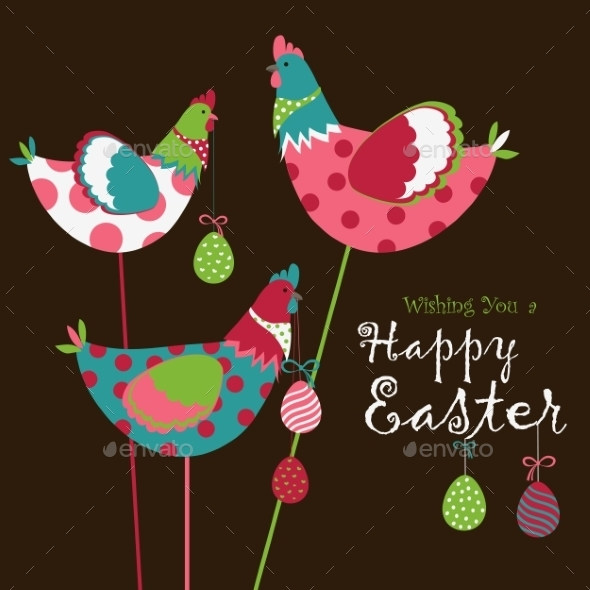 GraphicRiver Easter Chicken 10817728