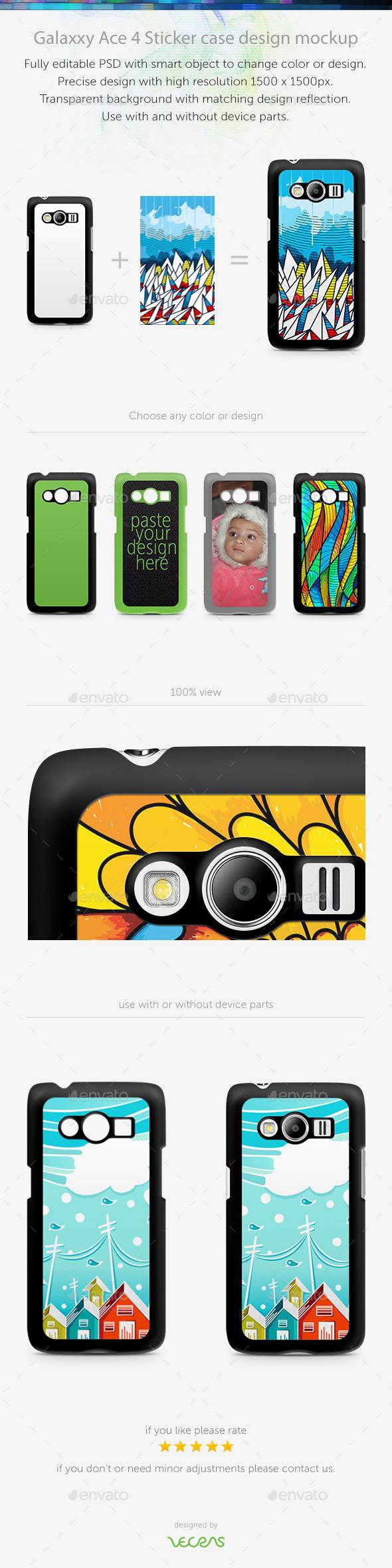 GraphicRiver Galaxxy Ace 4 Sticker Case Design Mockup 10817953