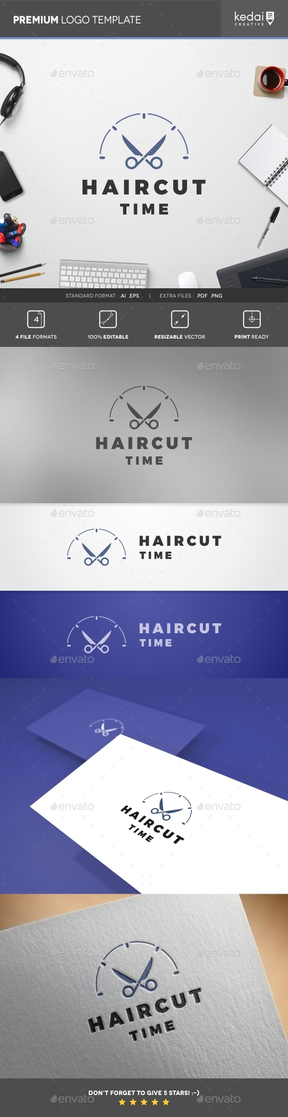 GraphicRiver Barber Shop 10818008