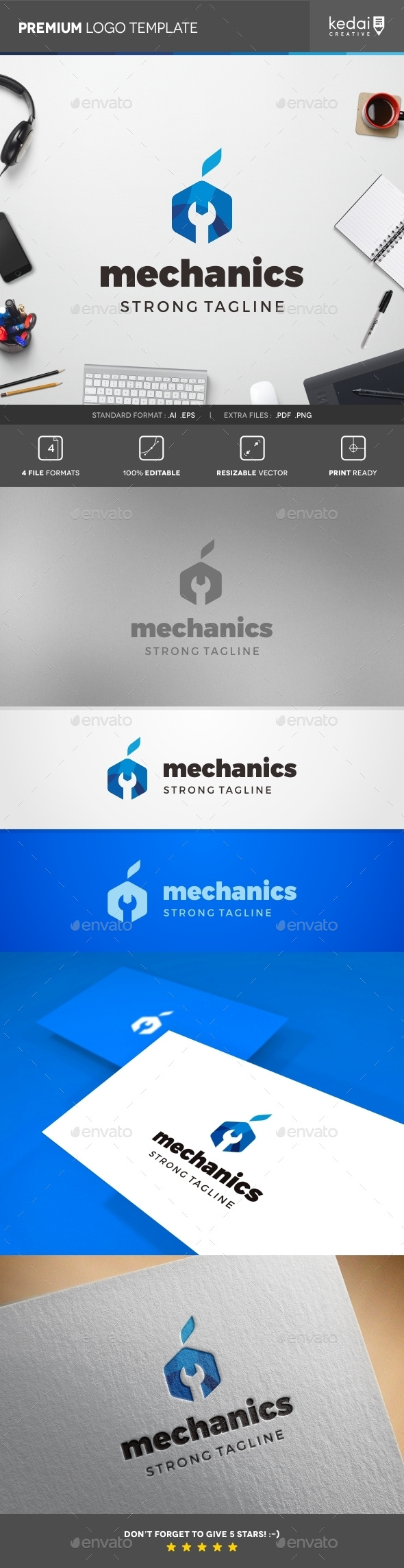 GraphicRiver Mechanics 10818029