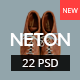 Neton – Minimal Agency PSD Template - ThemeForest Item for Sale