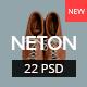 Neton – Minimal Agency PSD Template
