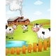 Cows on a Farm  - GraphicRiver Item for Sale