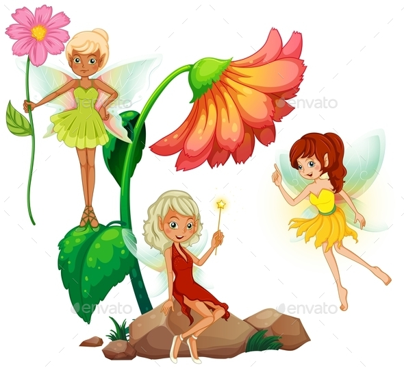 GraphicRiver Fairies 10818329
