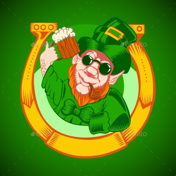 GraphicRiver Leprechaun Symbol 10818399