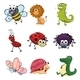 Various Animals and Insects - GraphicRiver Item for Sale