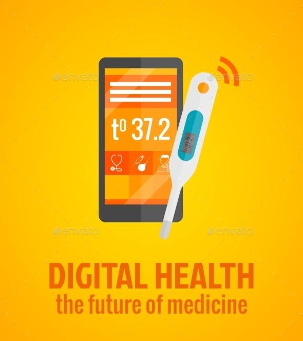 GraphicRiver Digital Health Concept 10818636