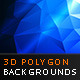 3D Polygon backgrounds Vol.1 - GraphicRiver Item for Sale