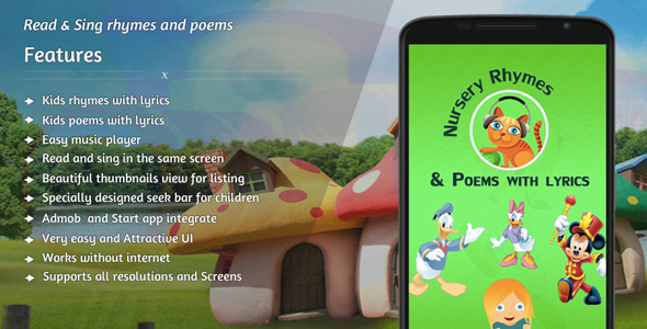 CodeCanyon Nursery rhymes and poems with lyrics Online 10774991