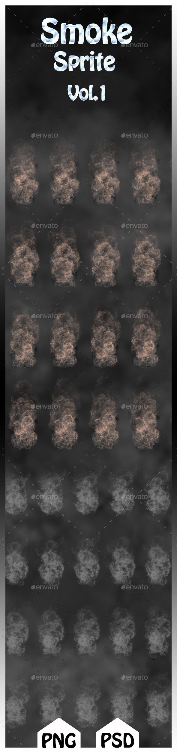 GraphicRiver Smoke sprites Vol.1 10818700