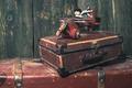 Vintage children's toy wooden airplane. - PhotoDune Item for Sale