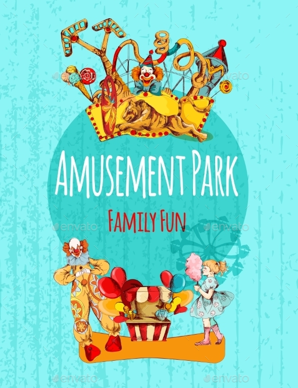 GraphicRiver Amusement Park Poster 10818915