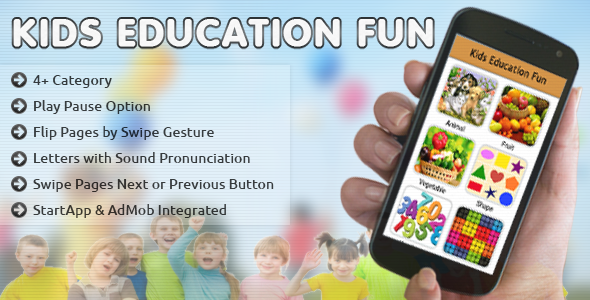 CodeCanyon Kids Education Fun 10819226