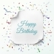 Happy Birthday Greeting Card Template - GraphicRiver Item for Sale