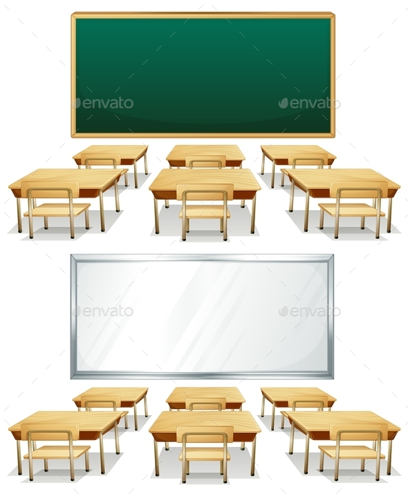 GraphicRiver Classrooms 10819329