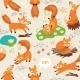 Fox Pattern  - GraphicRiver Item for Sale