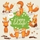 Foxes Background  - GraphicRiver Item for Sale