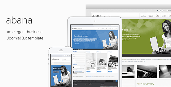 Abana - Responsive Joomla Template - Business Corporate