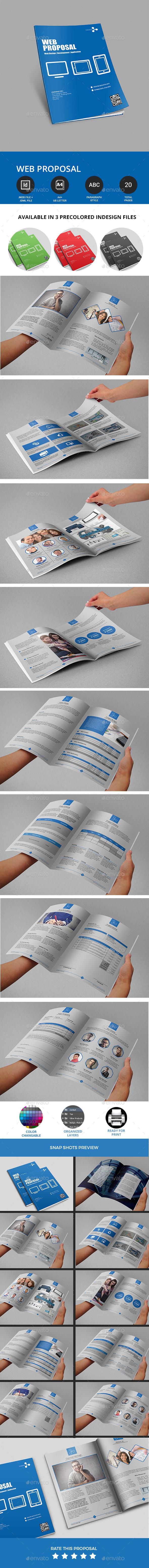 GraphicRiver Web Proposal 10762028