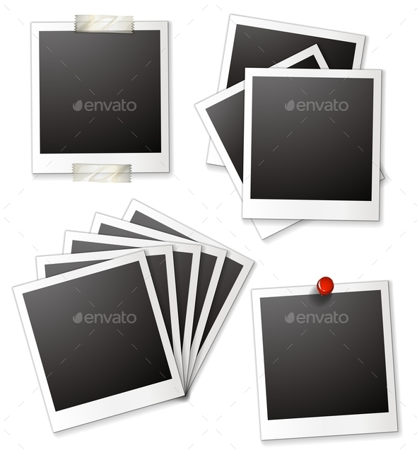 GraphicRiver Blank Photo Frames 10820192