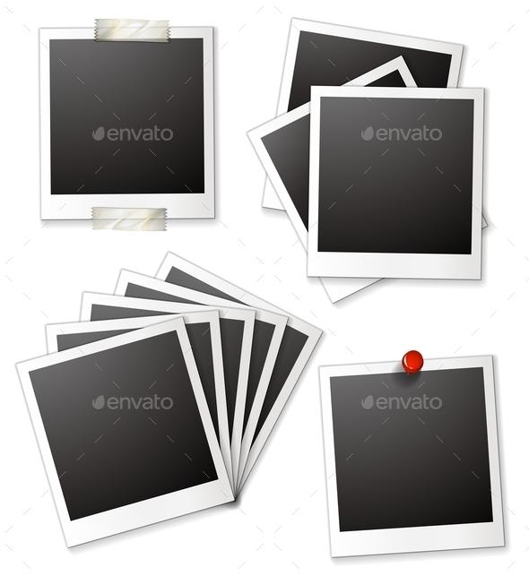 GraphicRiver Blank Photo Frames 10820192