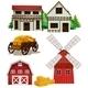 Farm Buildings - GraphicRiver Item for Sale