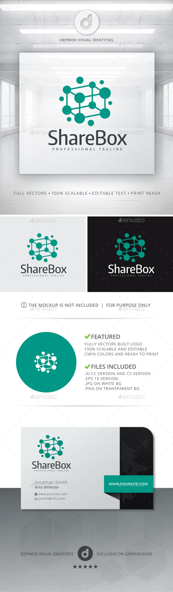 GraphicRiver Share Box Logo 10820606