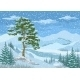 Mountain Winter Landscape - GraphicRiver Item for Sale