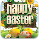 Happy Easter Flyer Template v2 - GraphicRiver Item for Sale