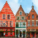 Christmas Grote Markt square of Brugge, Belgium. - PhotoDune Item for Sale