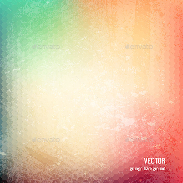 GraphicRiver Colourful Grunge Background 10820924