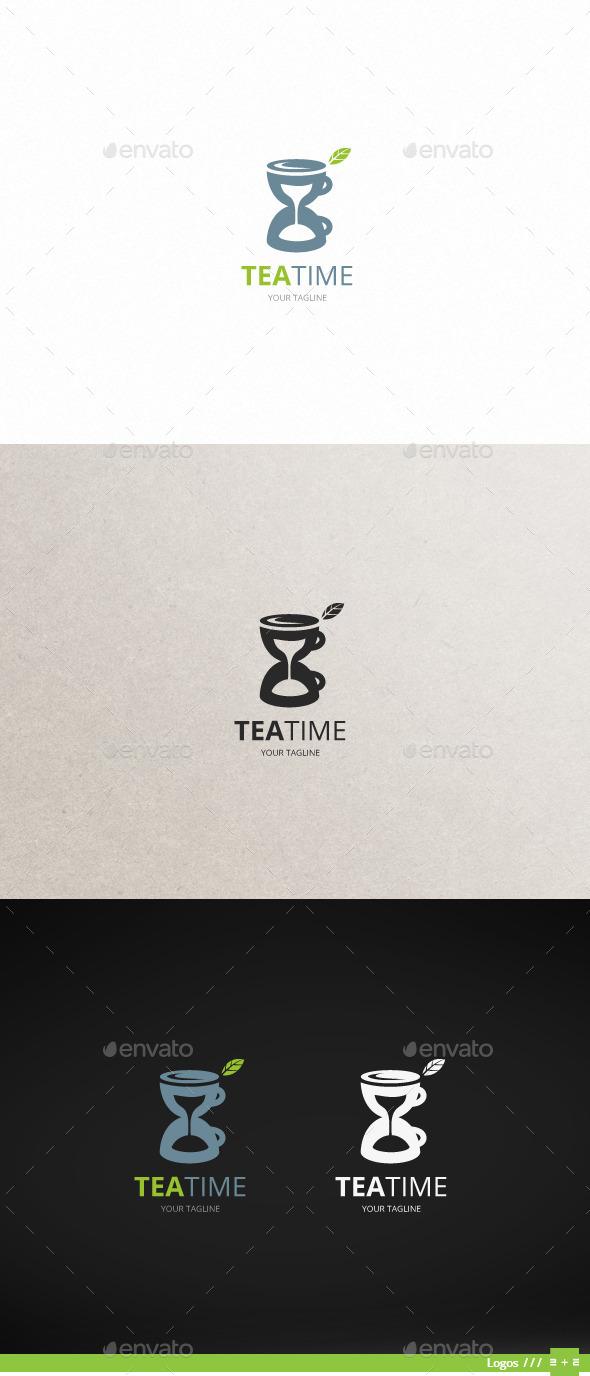 GraphicRiver Tea Time Logo 10808281